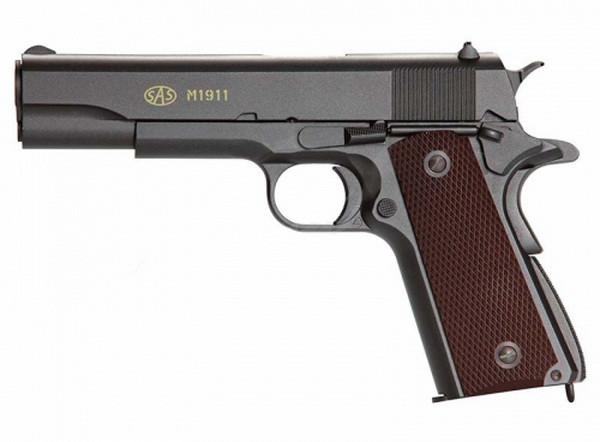 Пістолет пневматичний SAS M1911 Pellet (4,5 мм)
