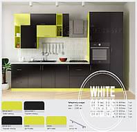 Кухня КС с пленочными фасадами МДФ