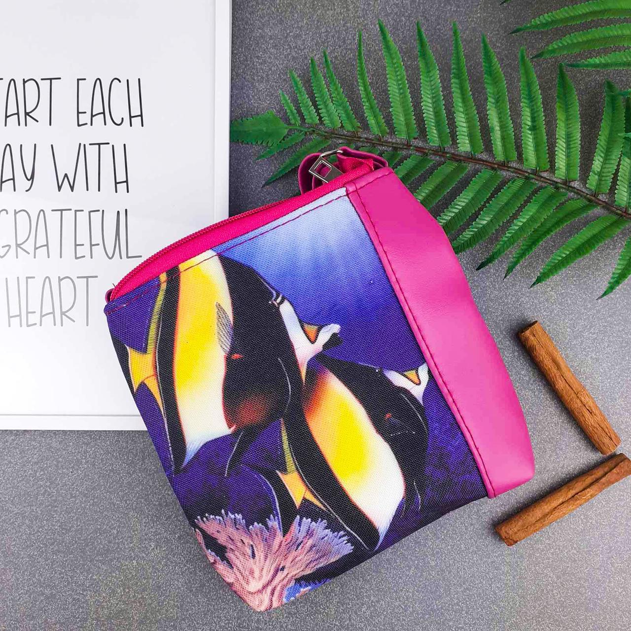 Детская сумка для девочки с принтом Две рыбки