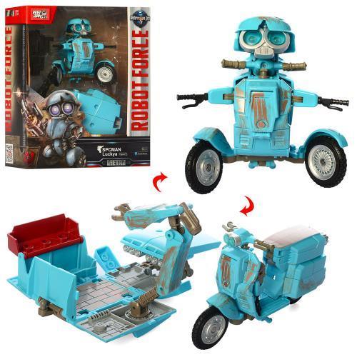 Трансформер робот+транспорт J8075 метал 12 см