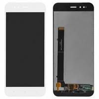 Дисплей Xiaomi Mi A1, Mi5x с сенсором (тачскрином) белый