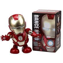 Тільки опт Танцюючий Робот Залізна Людина Super Hero Dance Hero