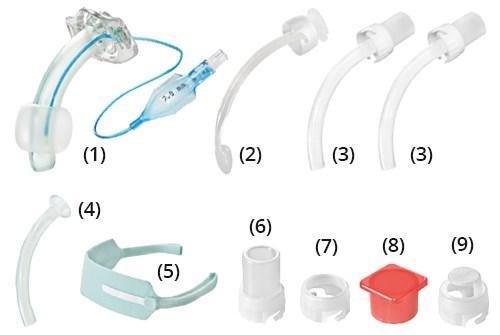 Набор для трахеостомии (Трубка KAN 5.0 c манжетой)