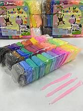 Тільки опт!!!Набір легкого пластиліну 36 кольорів