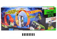 Гоночный трек Hot Wheel 6763 Крокодил хот вилс 2 металлические машинки