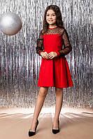 Нарядное платье для девочки, 122 - 146. Детское, подростковое красивое платье