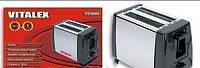 Тостер VITALEX VT-5006 Бытовая кухонная техника Готовим дома Тостеры как пользоваться Еда в поход Туризм
