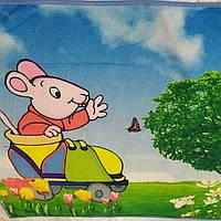 Символ 2020 года мышь полотенца полотенички детские микрофибра в разных цветах 40-57