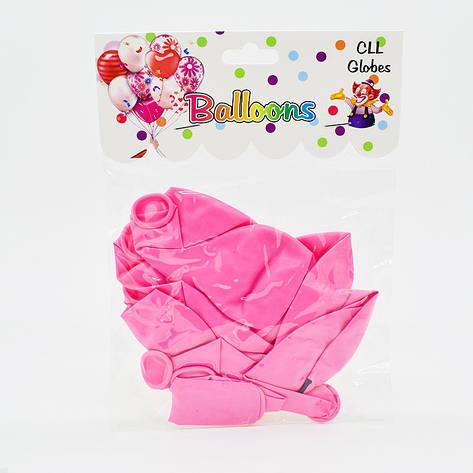 Воздушные шарики с принтом 10шт Love, фото 2