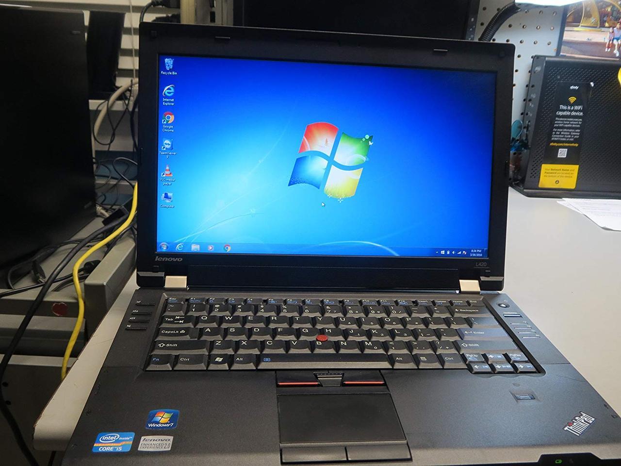 Ноутбук, notebook, Lenovo ThinkPad L420, 4 ядра, 4 Гб ОЗУ, HDD 160 Гб
