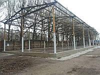 Строительство каркасного здания
