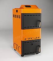 Котел пиролизный на дровах для дома СТС - Стандарт 10 кВт (14) 100м2