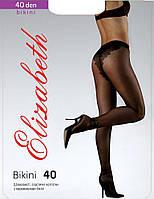Колготки Elizabeth 40 den Bikini Charm Natural р.3 (00120) | 5 шт.