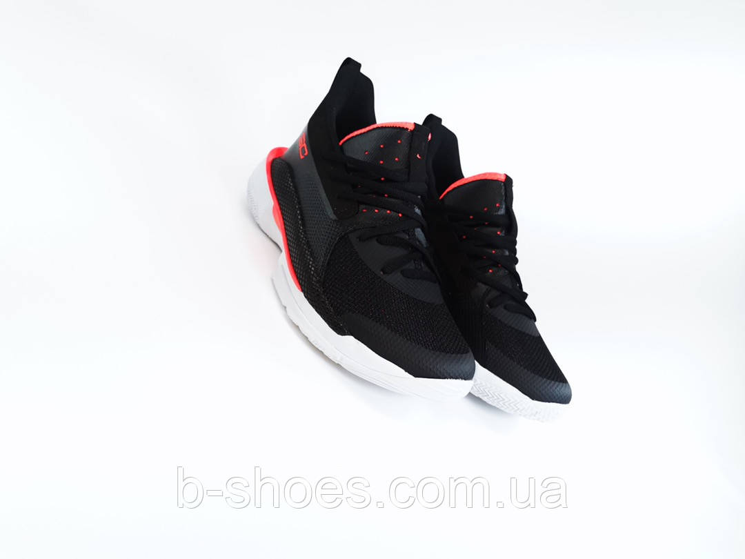 Мужские Баскетбольные кроссовки  Under Armour Curry 7(Black)