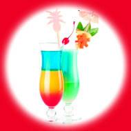 Тропический коктель / Tropic cocktail 10 мл, 0 мг/мл, 50PG - PUFF Жидкость для электронных сигарет (Заправка)