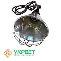 Защитный брудер для инфракрасной лампы Е27 с переключателем, фото 1
