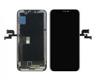 Дисплей Apple iPhone XS з сенсором (тачскрін) чорний, OLED