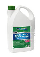 Антифриз концентрат -75°C /цвет зеленый/ RAVENOL HJC- Protect FL22 Concentrat /Hyundai, Mazda, Nissan/ - (5 л)