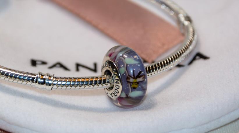 Шарм подвеска мурано на браслет Пандора Pandora