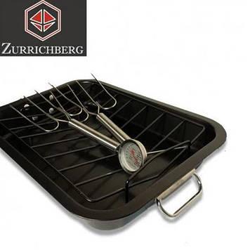 Набор для запекания жаровня 5 в 1 Zurrichberg ZBP-2037, противень 39x29x6 см.