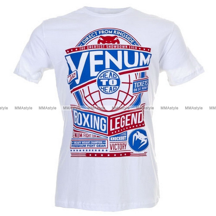 Футболка Venum Boxing Legends T-shirt - Ice