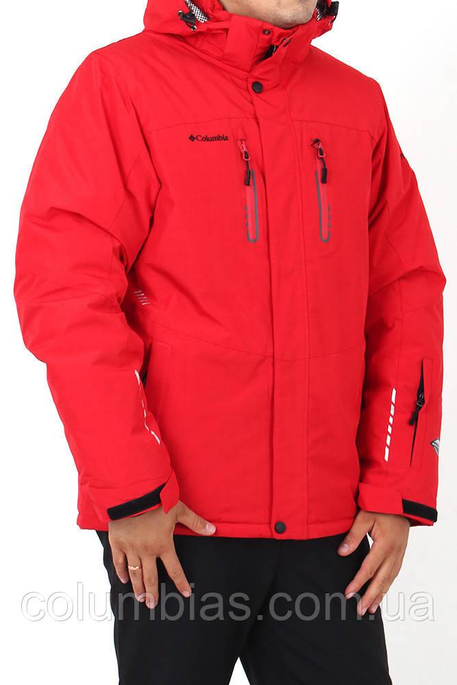 Зимняя куртка columbia красная синяя чёрная серая