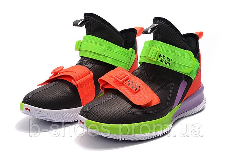 Мужские баскетбольные кроссовки  Nike LeBron Soldier 13(Вlack)