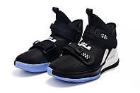 Мужские баскетбольные кроссовки  Nike LeBron Soldier 13(Вlack/white), фото 1