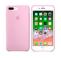 Silicone case Iphone 7,8 plus розовый Pink Мягкий чехол