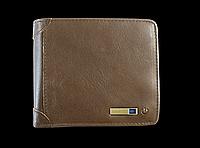 Умный кошелек Антивор с Bluetooth и RFID защитой. Натуральная мягкая кожа.