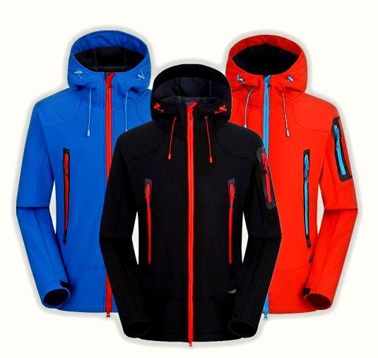 Туристическая  куртка  Soft Shell (Софт Шел)  REDLINE Куртка мужская