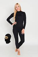 Женское повседневное термобелье Radical Black Iron, теплое зимнее комплект, фото 1