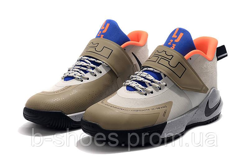 Мужские баскетбольные кроссовки  Nike LeBron   Ambassador 12(Green)