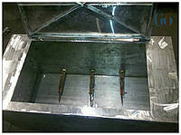 Промышленная ванна, Нагревательный бак из нержавейки