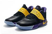 Мужские баскетбольные кроссовки  Nike LeBron   Ambassador 12(Black/yellow), фото 1