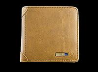 Умный кошелек Антивор с Bluetooth и RFID защитой. Натуральная мягкая кожа., фото 1