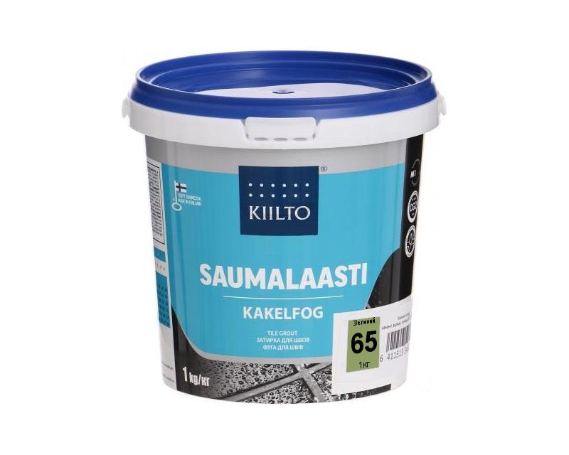 Затирка цементная KIILTO для швов плитки №65 - зеленая 1кг