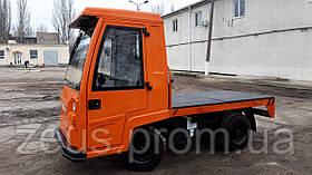 Электротележка платформенная, электрокара ЕТ20132-05, г/п 2 тонны, с кабиной. Рассрочка 12 мес без удорожания