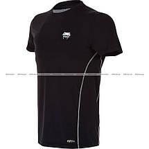 Футболка Venum Contender Dry Tech™ T-shirt Black White, фото 3