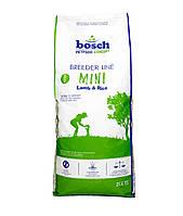 Bosch Breeder Mini Lamb & Rice 20кг для собак мелких пород с ягненком