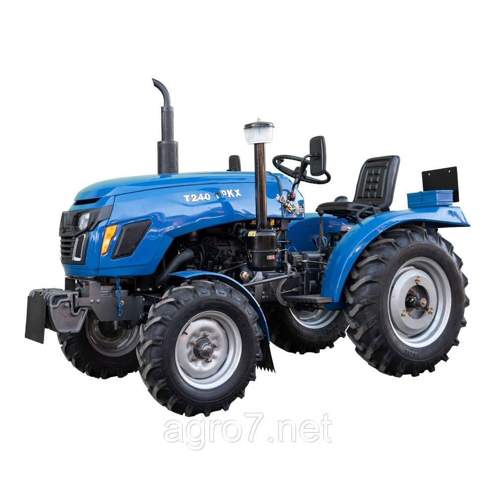 Трактор Т 240TPKX (24 л.с., широкая резина)