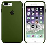 Silicone case Iphone 7,8 plus Virid (хаки)  Мягкий чехол