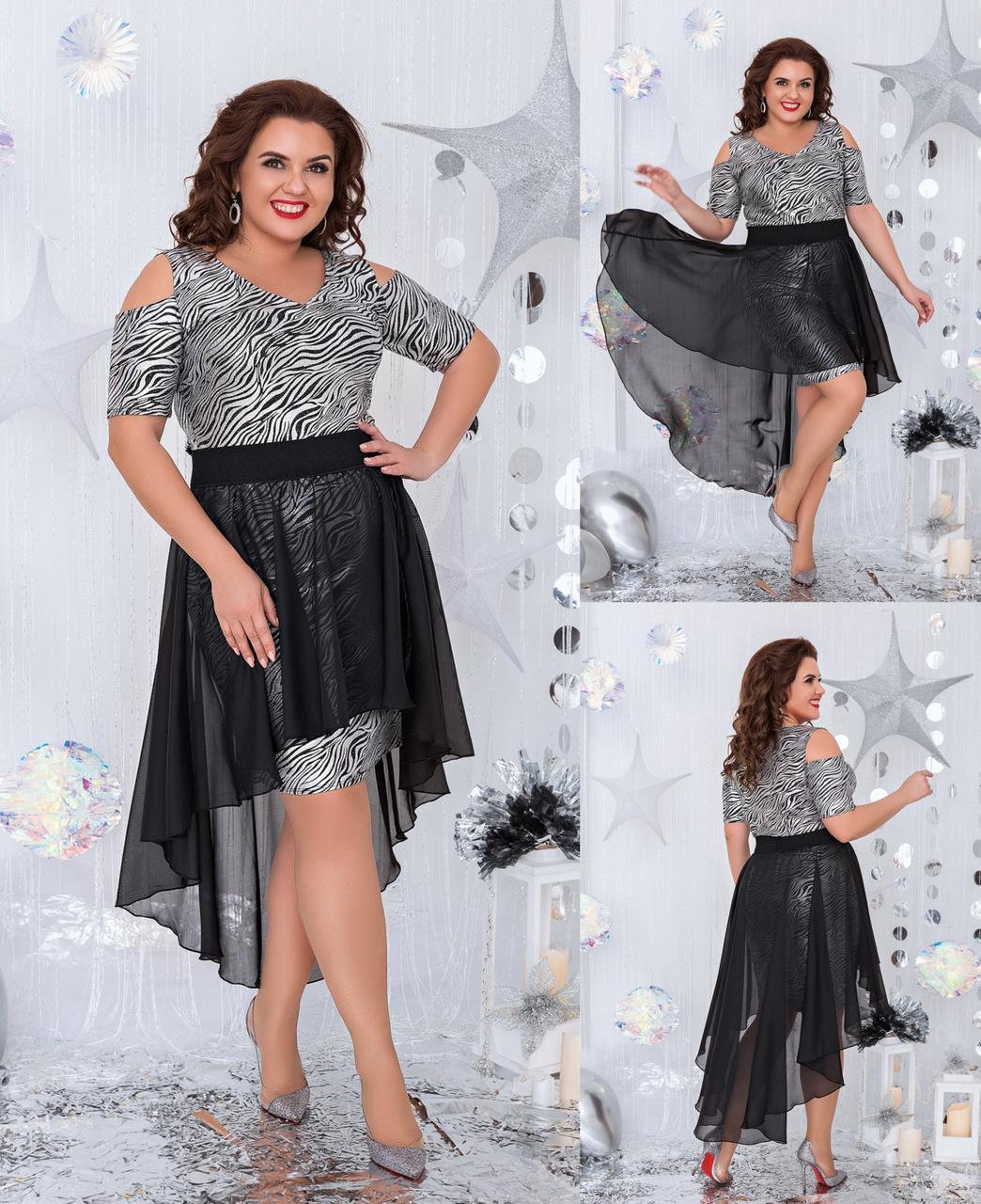 Платье женское 3154вл батал