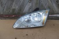 Фара левая для Ford Focus 2 2004-2008, 4M5113W030AD, 4M51-13W030-AD