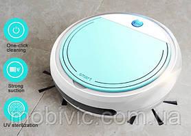 Робот-пылесос S&A K1 с щетками (white-green)