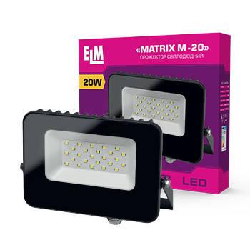 Прожектор светодиодный ELM Matrix M 20W 6500К IP65, фото 2