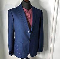 Брендовый мужской пиджак Billionaire P0281 темно-синий
