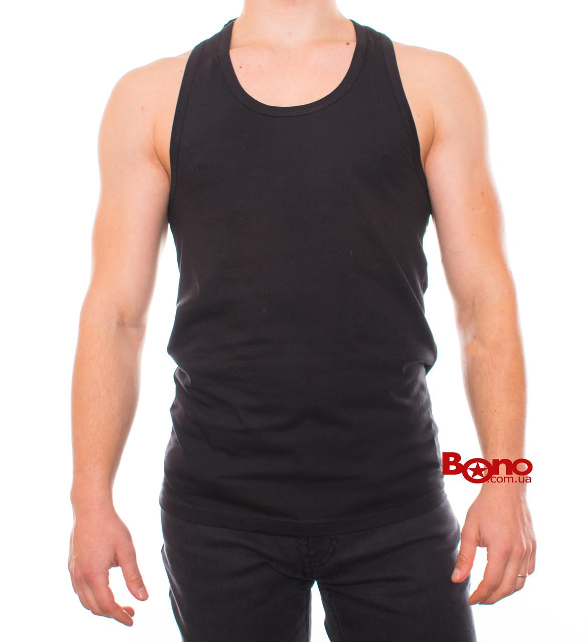 Bono Майка-борцовка  черная 000101