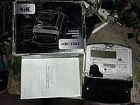 Счетчик трехфазный НІК 2303 электронный