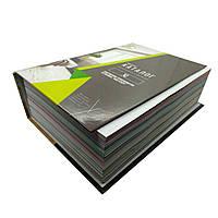Промо материал для натяжных потолков. Каталог материал для натяжных потолков и фактур XL в твердой обложке